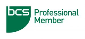 I'm a Professional member of the BCS (MBCS)